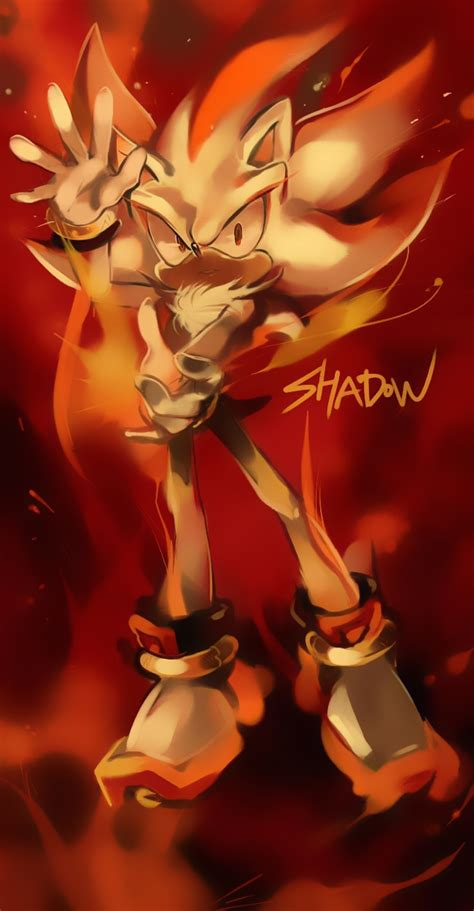 super shadow sonic  hedgehog zerochan anime image board