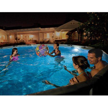 intex pool led intex led pool light walmart