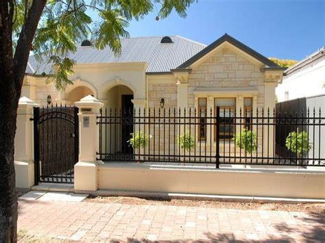 design of fences for houses minimalist iron fence for urban home decor 4 home ideas