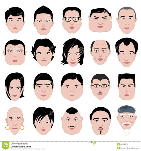 hairstyles  men   face shape hair