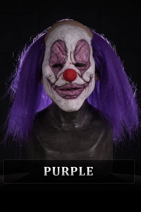 whispers  clown silicone  mask