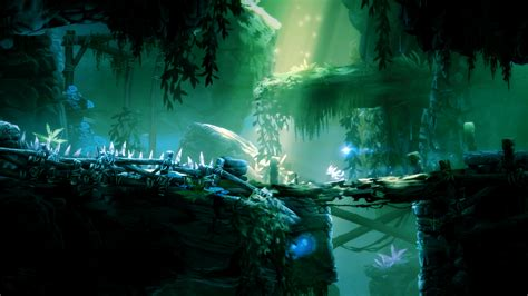 ori and the blind forest e3 2014 ori and the blind forest finds a challenge in