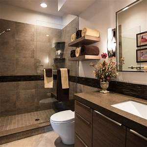 modern bathroom colors brown color shades chic bathroom With kitchen cabinet trends 2018 combined with kate spade wall art