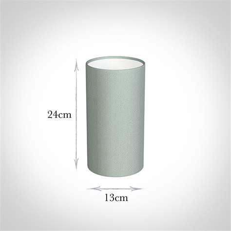 contemporary cylinder lamp shade cm french grey silk shade