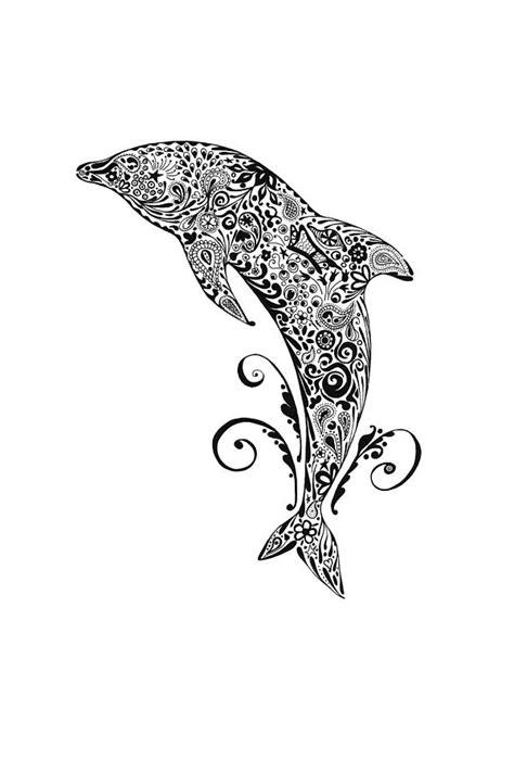 dolphin doodle drawing  jacqueline eden