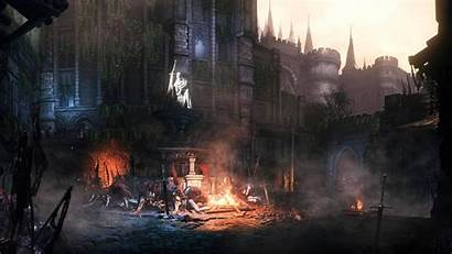 Souls Dark Wall Lothric 4k Iii Wallpapers