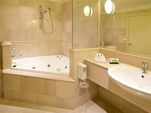 Ideas Beautiful Corner Bathtub Design Ideas For Small