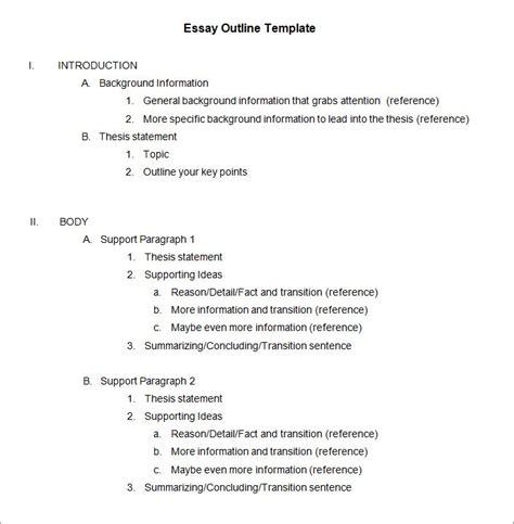Apa 6th Edition Outline Template Apa Outline Template Madinbelgrade