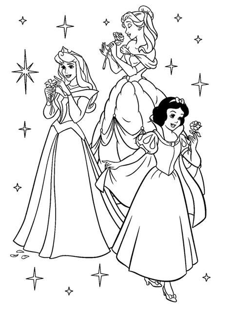 Coloring Disney Princess Coloring Book Page by Coloring Pages Disney Princess Coloring Book Pdf Disney
