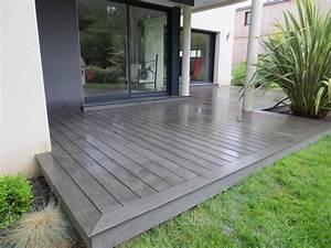 terrasse bois gris maison design photo de armoric With terrasse en bois ou carrelage