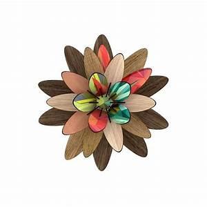 Fleur En Bois : fleur d corative en bois freezing vibrations miho ~ Dallasstarsshop.com Idées de Décoration