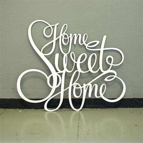 Home Sweet Home Deco by Westpaket Deco Lettrage Homesweethome Design3000 Fr