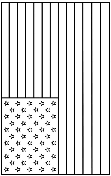 coloring page   American flag colors, American flag ...
