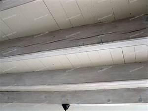 impressionnant peinture poutre bois plafond 8 peinture With peinture pour poutre en bois
