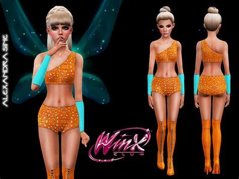 Alexandra_sine's Winx Club S1 Stella Costume