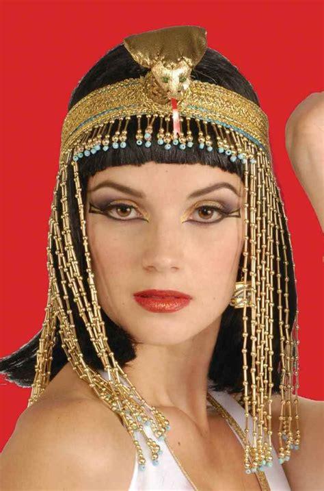 Egyptian Headpiece - Deluxe Beaded Asp Headpiece - HATS ...