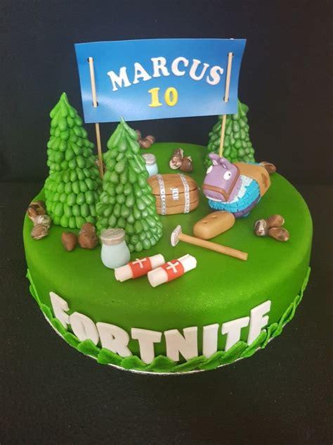 fortnite birthday cake verjaardagstaart fortnite cake
