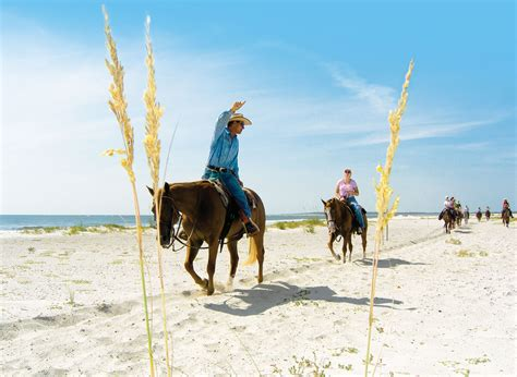 horseback florida locations riding island