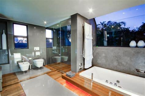 parquet salle de bains stratifie en   inspirantes