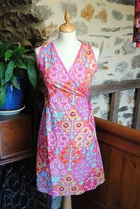 robe portefeuille rose pinky titi pique sewing projects With robe portefeuille patron