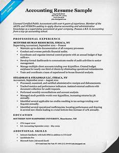 accounting cpa resume sample resume companion With sample resume of a cpa