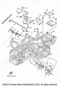 Yamaha Side By Side 2006 Oem Parts Diagram For Frame