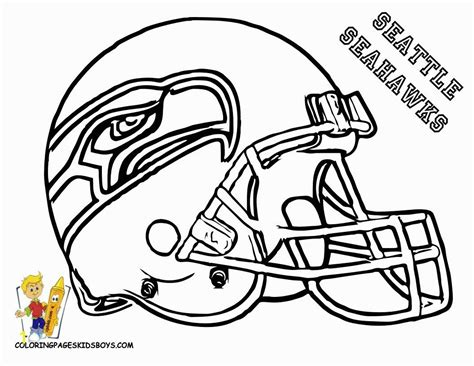 Nfl Coloring Pages To Print Zabelyesayancom