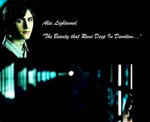 Re: Why Edmund Entin the best choice for Alec Lightwood ...