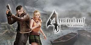 Resident Evil 4 Wii Edition Wii Games Nintendo
