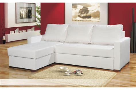 canape blanc angle canapé d 39 angle blanc chlara canapés d 39 angle canapés et