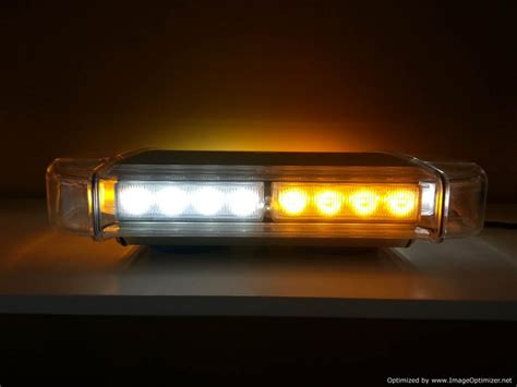 14 quot led mini light bar emergency warning light