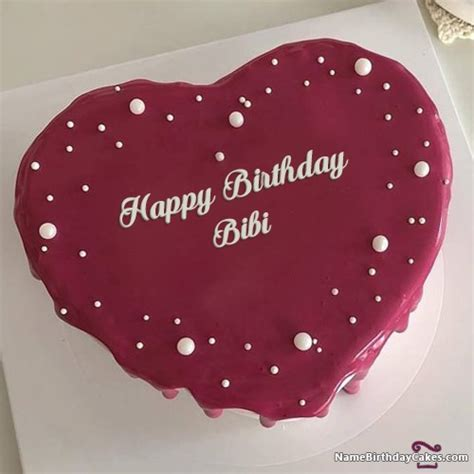happy birthday bibi cakes cards wishes