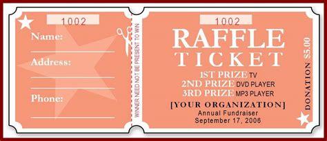 numbered raffle ticket template free raffle ticket template template business