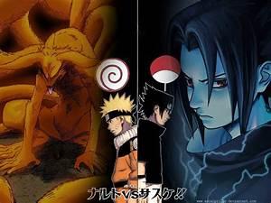 15 Koleksi Gambar Wallpaper Naruto vs Sasuke HD