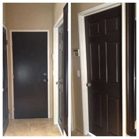 painted all my white doors brown it black brown doors affair in 2019