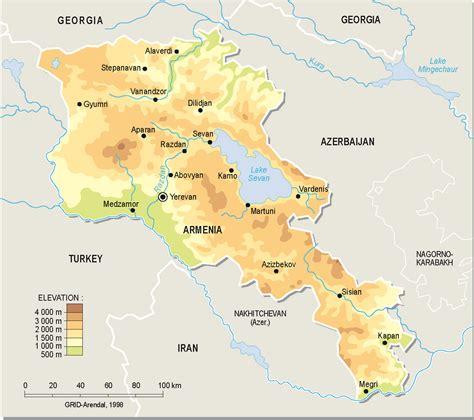 maps  armenia map library maps   world