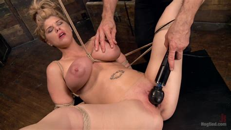 Carissa Montgomery In Huge Tit Blonde Bondage Slut