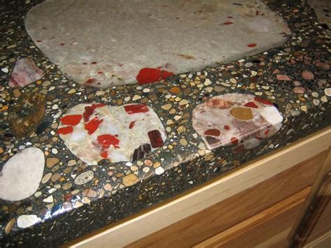 Pudding stones kitchen counter top So Want This It's a