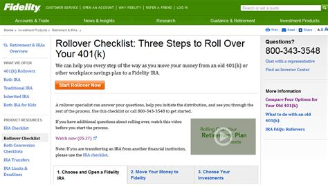 401K Rollover To Fidelity IRA: Account Fees, Cost, Offer 2018