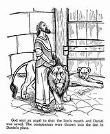 Daniel Coloring Pages Den Lions Bible Lion Testament Printables Activities Story Sheets Crafts Stories Sunday Lessons Colouring Church Children Books sketch template