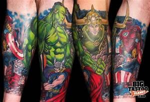 Marvel tattoo | Epic Ink | Pinterest | Ink, Half sleeves ...