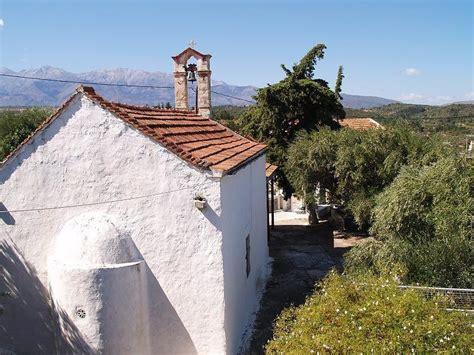 bedroom bungalow  sale  aspro chania crete greece