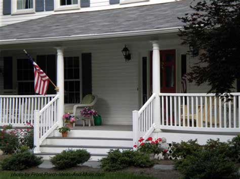 Country Style Porches  Wrap Around Porch Ideas Country