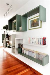 Salon  Bureau  Biblioth U00e8que  Couloir Contemporary