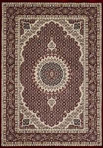 Teppich Auf Englisch : tibet0146 rot klassischer tibet teppich mit orient muster ~ Watch28wear.com Haus und Dekorationen