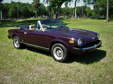 1978 Fiat Spider For Sale by 1978 Fiat 124 Spider For Sale 2260765 Hemmings Motor News