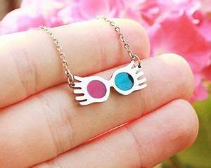Luna Lovegood Sunglasses Necklace Wizard Necklace Radish