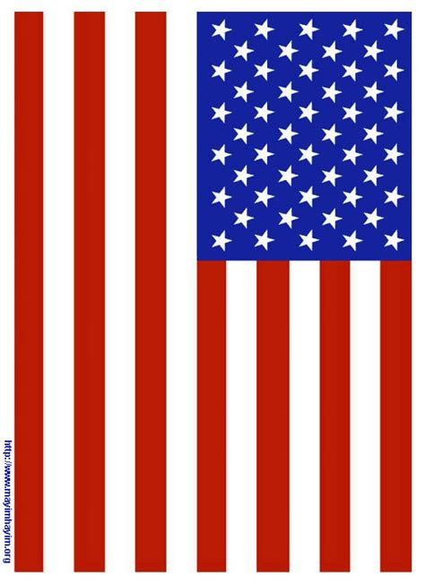 full page american flag printable printable  degree