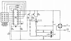 Dtmf circuit telephone circuits nextgr for Dtmf telephone the circuit can be likewise telephone circuit schematic