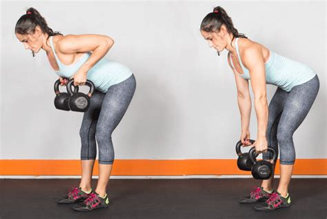 kettlebell row arm rows kettlebells killer workouts compound elevated moves excellent rate extra keep heart body